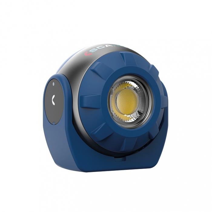 SOUNDLED S, lampa led audio reincarcabila, 600 lumeni 5