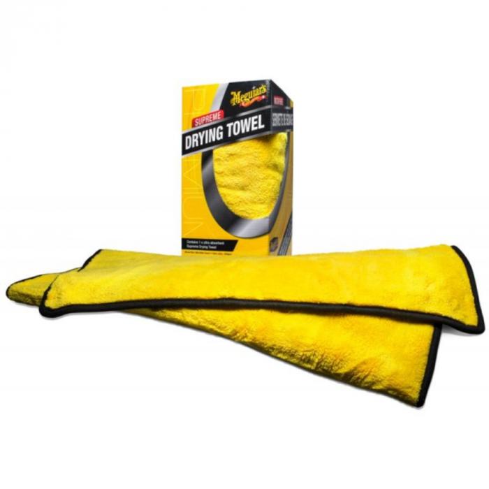 Supreme Drying Towel, prosop uscare auto, din microfibra,  55x76 cm 0