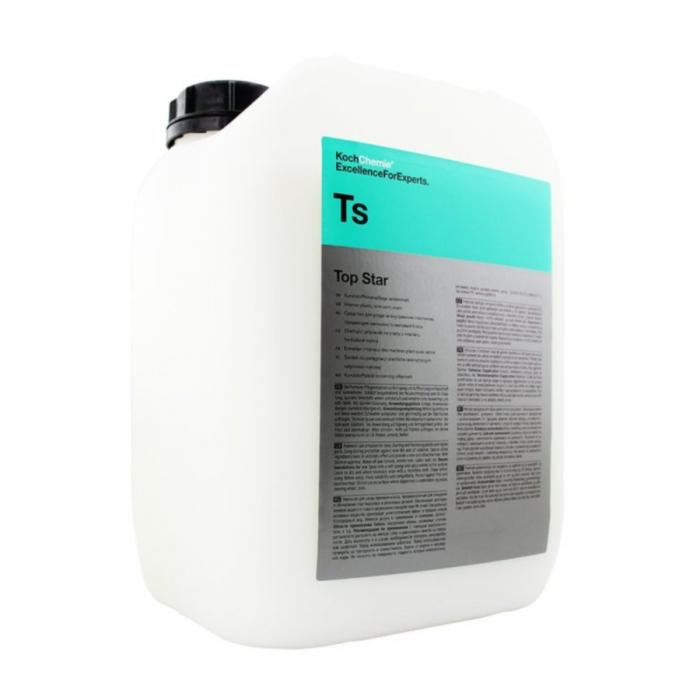 Ts - Top Star, dressing plastic si cauciuc interior, semi-mat, 10 ltr 0