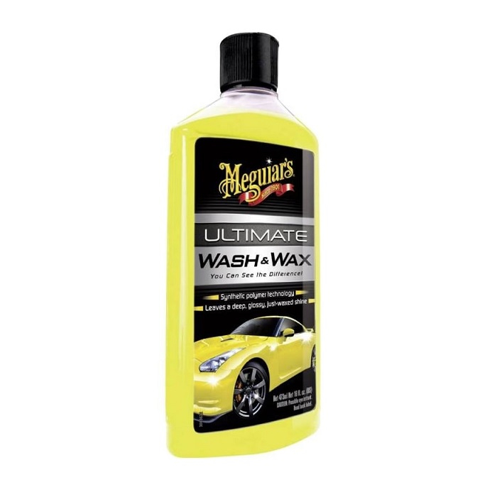 Ultimate Wash and Wax, sampon auto cu ceara, 473 ml 0