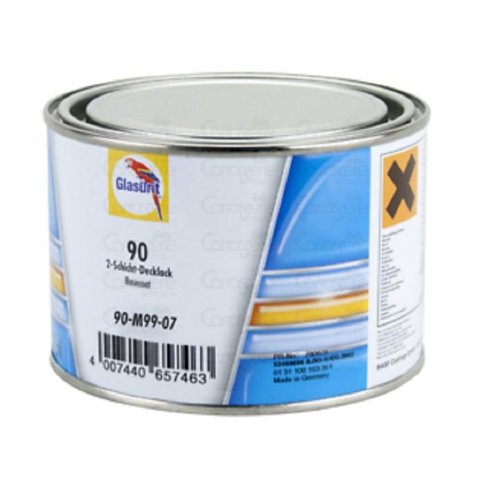 Vopsea auto pe bază de apă 90-M 99/07 Aluminium Extra Coarse, cutie 0,5 ltr. [0]