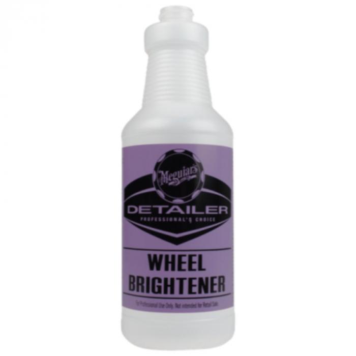 Wheel Brightener Empty Bottle, recipient plastic 946 ml [0]