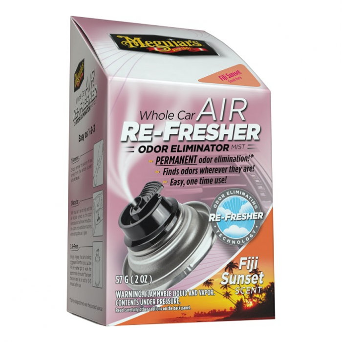Whole Car Air Re-Fresher Odor Eliminator Mist - Fiji Sunset, spray eliminare mirosuri neplacute si odorizant auto, 59 ml 0