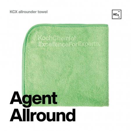 999626_Koch_Chemie_KCX_Allrounder_Towel_laveta_microfibre_verde_40x40_cm_270GSM [1]