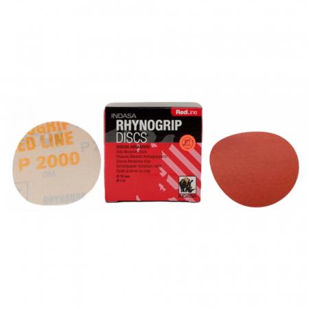 Disc abraziv Rhynogrip RedLine 75mm, fără găuri [0]