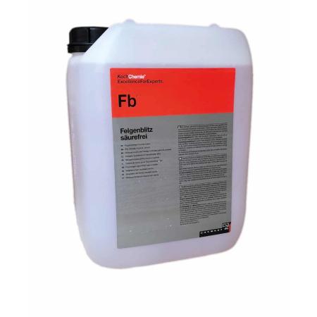 Fb - Felgenblitz saurefrei, solutie curatare jante neutra cu indicator rosu, 33 kg0