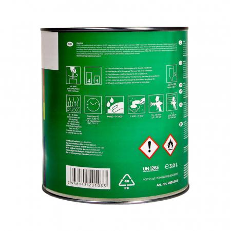 Filler 2K acrilic HS 4:1 gri deschis, cutie 3 ltr1