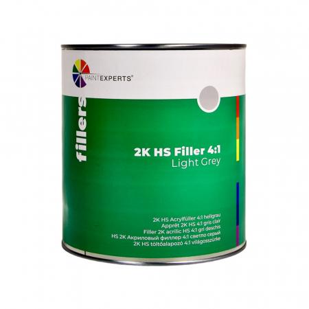 Filler 2K acrilic HS 4:1 gri deschis, cutie 3 ltr0