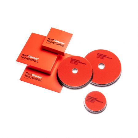 Heavy Cut Pad, burete polish abraziv rosu, 126x23 mm2