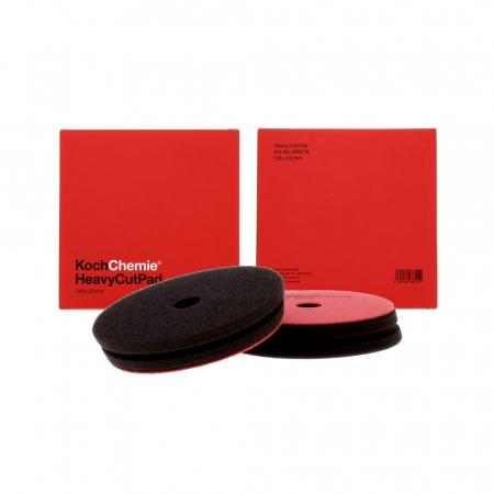 Heavy Cut Pad, burete polish abraziv rosu, 126x23 mm0