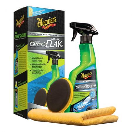 Hybrid Ceramic Quick Clay Kit, kit decontaminare vopsea cu pad argila sintetica1