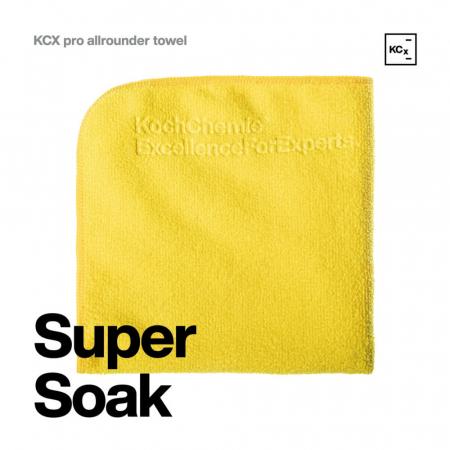 999627_Koch_Chemie_KCX_Pro_Allrounder_Towel_laveta_microfibre_profesionala_galbena_dual_face_40x40_cm_315GSM [1]