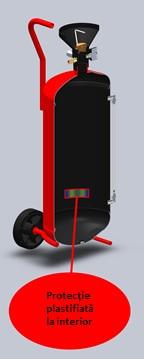 Nebulizator spumant metalic vopsit, protectie interioara epoxi plastifiat, capacitate  50 ltr2