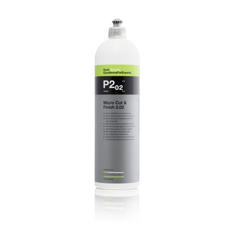 P2.02 - Micro Cut and Finish, polish finish cu ceara carnauba, 1 ltr0