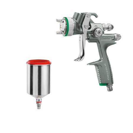 Pistol vopsit Jet 100 B F HVLP, pahar aluminiu 750 ml, QCC0