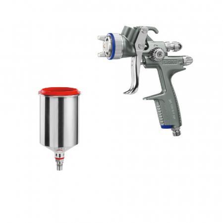 Pistol vopsit Jet 100 B F RP, pahar aluminiu 750 ml, QCC0