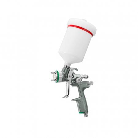Pistol vopsit Jet 100 B F HVLP, pahar plastic 600 ml, QCC0