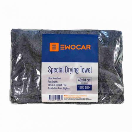 Prosop uscare din microfibră, Special Drying Towel, 1200 GSM, 60x40 cm0