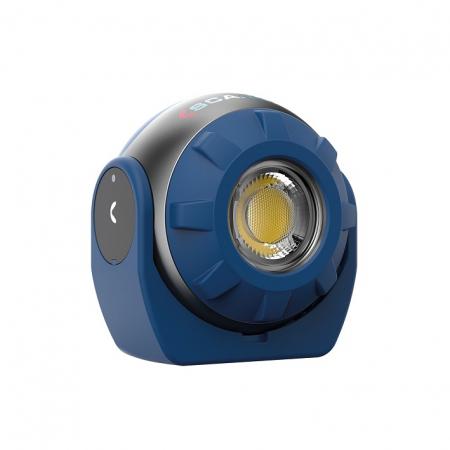 SOUNDLED S, lampa led audio reincarcabila, 600 lumeni [5]