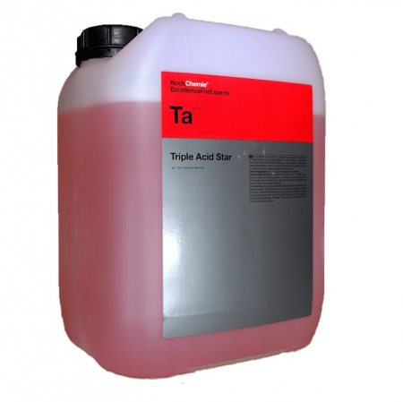 Ta - Triple Acid Star, solutie curatare jante acida concentrata, 11 kg0