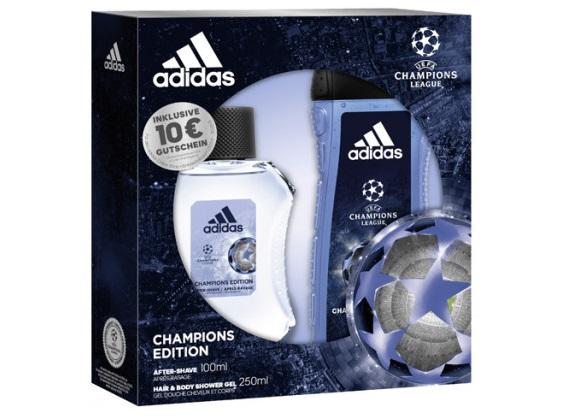 Set cadou pentru bărbați - ADIDAS UEFA CHAMPIONS LEAGUE 0