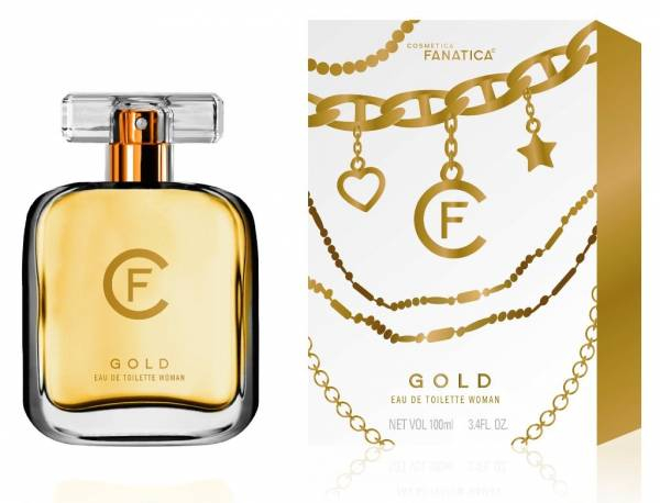 Cosmetica Fanatica GOLD, parfum pentru femei, 100ML 0