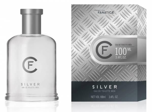 Cosmetica Fanatica SILVER, parfum pentru barbati, 100ML 0