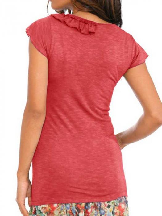 Bluza cu decoratiuni textile 2