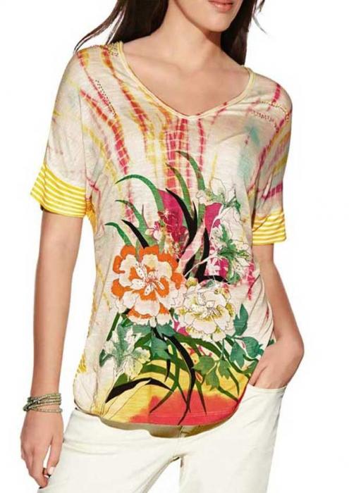 Bluza multicolora lejera 0
