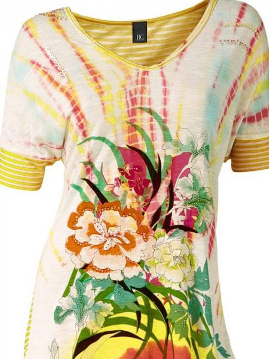 Bluza multicolora lejera 1