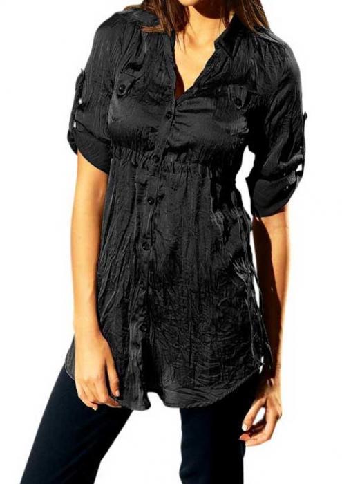 Bluza neagra lunga 0