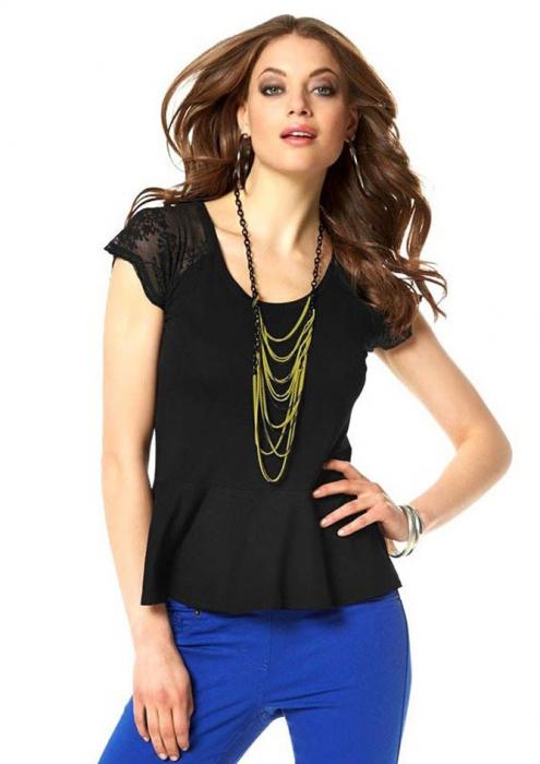 Bluza neagra Laura Scott 0