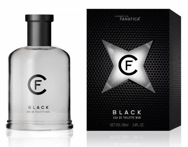 Cosmetica Fanatica BLACK, parfum pentru barbati, 100ML 0