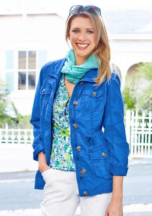 Jacheta albastra de toamna 0