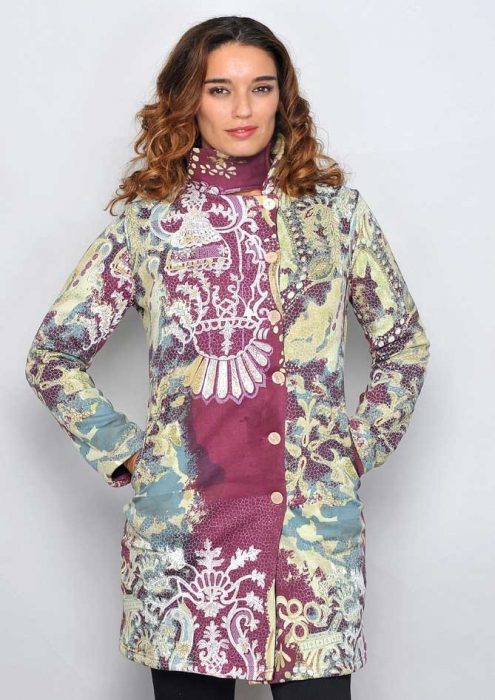 Jacheta lunga multicolora 0