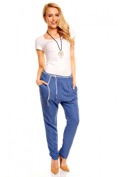 Pantalon albastru Eight2Nine 0