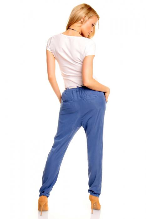 Pantalon albastru Eight2Nine 2