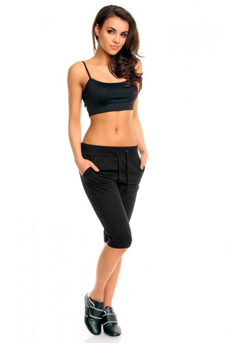 Pantalon sport Ganeder negru 0