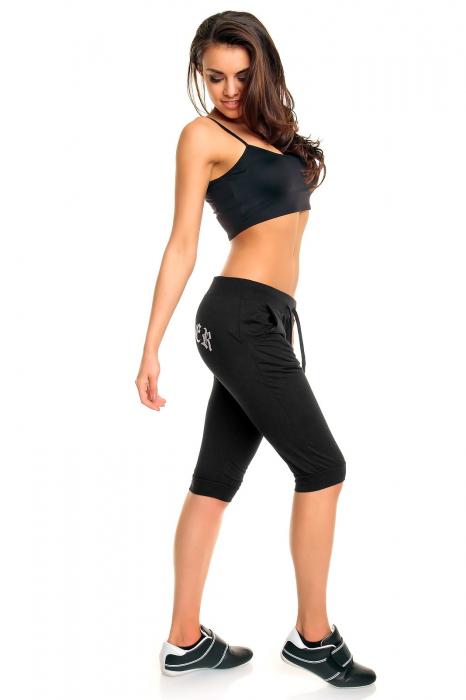 Pantalon sport Ganeder negru 1