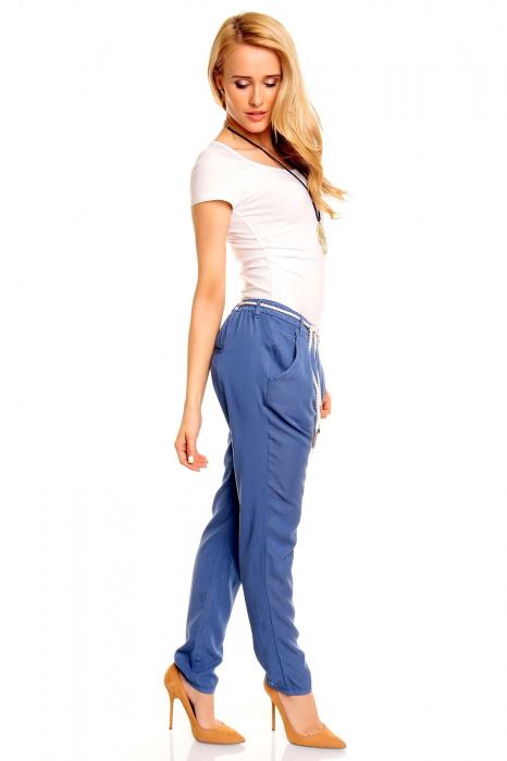 Pantalon albastru Eight2Nine 3