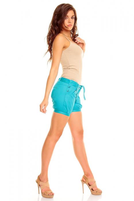 Pantaloni scurti turcoaise [1]