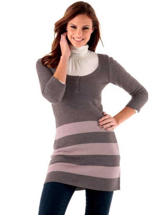 Rochita pulover lunga 0