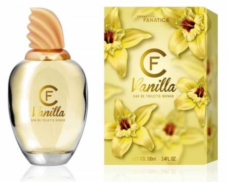 Cosmetica Fanatica VANILLA, parfum pentru femei, 100ML0