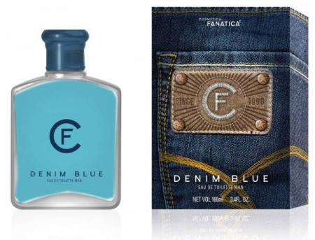 Cosmetica Fanatica Denim Blue, parfum pentru barbati, 100ML0
