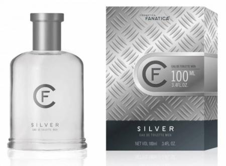 Cosmetica Fanatica SILVER, parfum pentru barbati, 100ML0