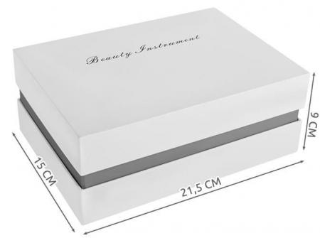 Aparat masaj facial cu ultrasunet 5 in 1, fototerapie, antirid, ecran LCD, reincarcabil 750mAh1