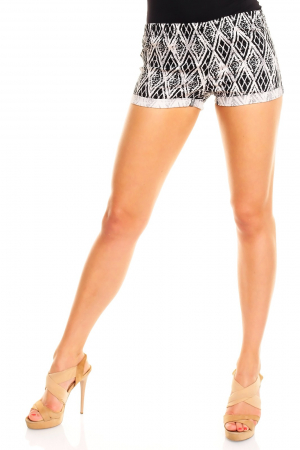 Pantalon scurt Sublevel cadrilat [0]