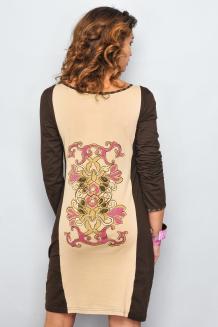 Rochie de toamna cu imprimeuri1