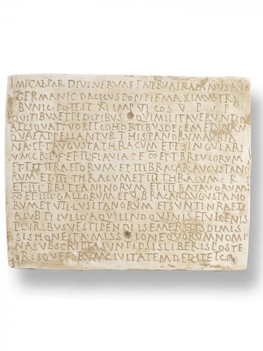 Diploma militara romana [0]
