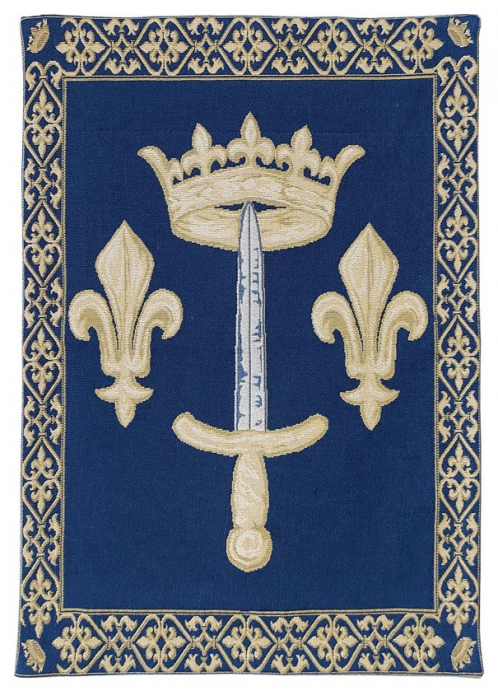 Tapiserie cu blazonul Ioanei d'Arc [0]